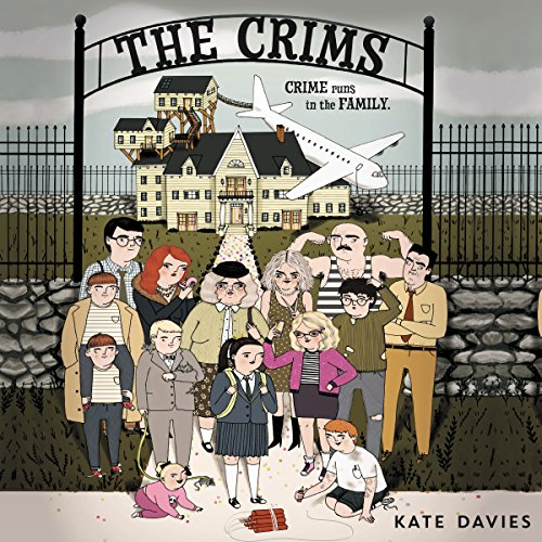 The Crims audiobook cover art