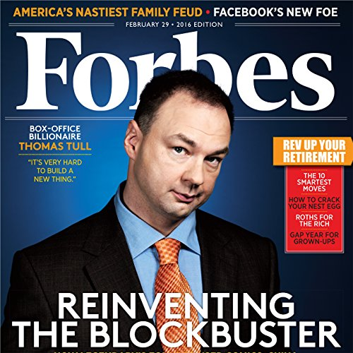 Forbes, February 29, 2016 cover art