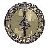 ACU Delta Force US Army Operational Detachment SFODA-D SFG Call of Duty COD Hook&Loop Patch