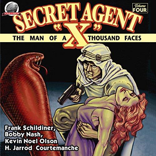 "Secret Agent ""X"" - Volume Four cover art"
