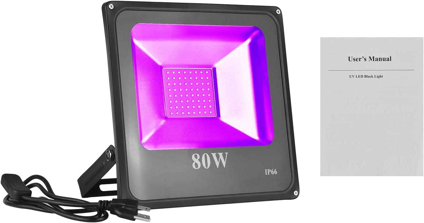 Black Lights Muslady Black Lights UV LED Light Ultra Violet ...