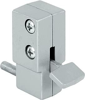 Prime-Line Products U 9877 Prime-Line Slide Bolt Lock, Die Cast Aluminum, Gray, Pack of 1,