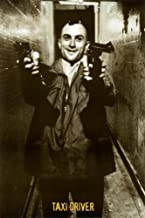(24x36) Taxi Driver Movie (Two Guns, Smiling) Poster Print