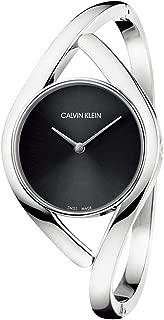 Calvin Klein Womens Analogue Quartz Watch with Stainless Steel Strap K8U2S111