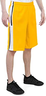 North 15 Men's Athletic Mesh Lightweight Shorts with Side Pockets (M - 5XL)