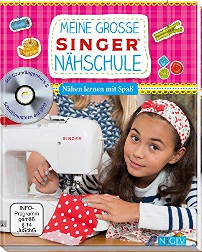 Naumann & Göbel Meine große SINGER Nähschule (mit DVD): Nähen lernen mit Spaß für Kinder Foto