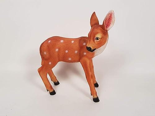 Wonderland Standing Baby Deer Garden Decoration (Garden Decor, Home Decor, Garden Animal) Diwali Decor, Diwali Gift I...