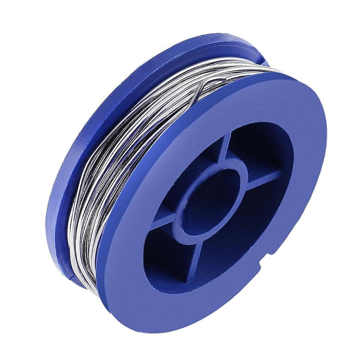 ライトニングうめき職業VIPECO 1ピース 0.8ミリメートル ミニ ピュア はんだ ワイヤー ノー クリーン フラックス 錫鉛 はんだ ワイヤー ロール