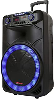 """MPD15EQ Single 15"""" Woofer with Built in Rechargeable Battery Front Equalizer Professional DJ Speaker System"""