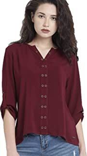 dc3ae797e9e Top Fusion Cotton Womens Tunic Short Top for Daily Casual Tops for Under  500 300 Girls
