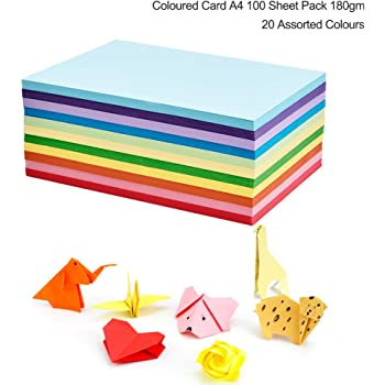 Selection of 11 A4 Alessandra papers in various colours ideal for Crafting