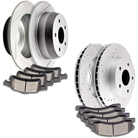See Desc. 2000 Fit Jeep Grand Cherokee OE Replacement Rotors w//Ceramic Pads F