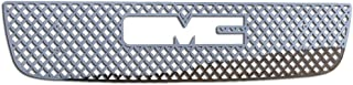 Ferreus Industries Grille Insert Guard Mesh Punch Polished Stainless fits: 2003-2006 GMC Sierra TRK-131-04-Chrome-a