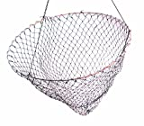 Frabill Bridge/Pier Net | 36' Diameter Fishing Net Pre-Rigged with 50 Feet of Rope, Black (1002)