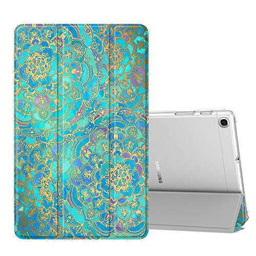 Fintie Hülle für Samsung Galaxy Tab A 10,1 SM-T510/T515 2019 - Ultradünn Schutzhülle mit transparenter Rückseite Abdeckung Cover für Samsung Galaxy Tab A 10.1 Zoll 2019 Tablet, Jade