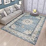 GSOLOYL Wohnzimmer Teppich Startseite Vintage-Teppiche for Schlafzimmer Amerikanische Teppiche Sofa Couchtisch Teppich Study Room Ethnic Bodenmatte (Size : 1600mm x 2300mm)