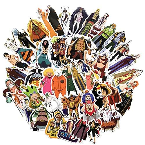 LMY La nueva versión de anime japonés dibujos animados lindo personalizado pvc impermeable no repetitivo pegatinas equipaje agua taza casco guitarra cuaderno no repetitivo pegatinas 75 unids