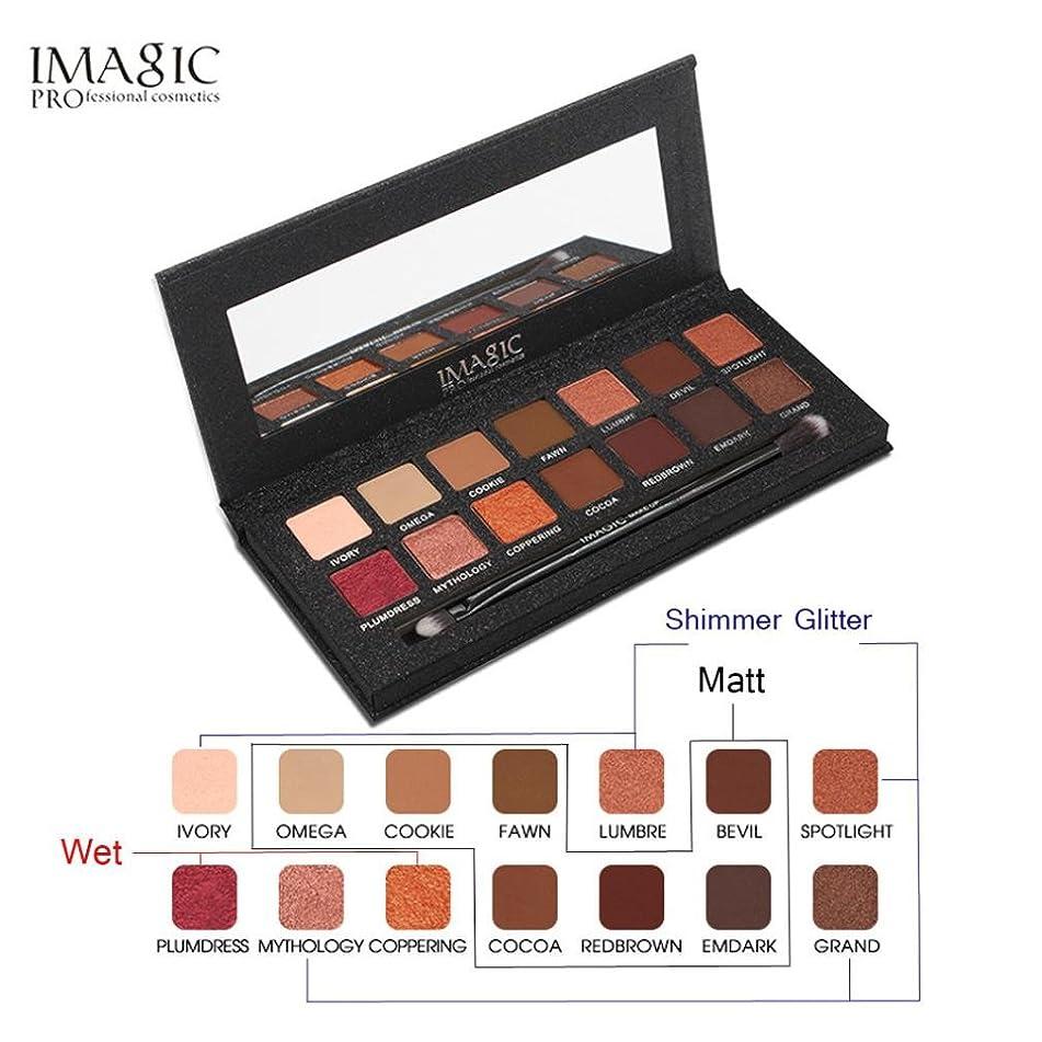 IMAGIC 12 Color Shimmer Glitter Eye Shadow Powder Matt Eyeshadow Cosmetic Makeup by DMZing