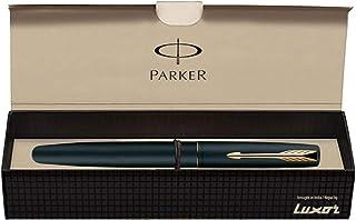 Parker Frontier Matte Black GT Fountain Pen - Fine Nib