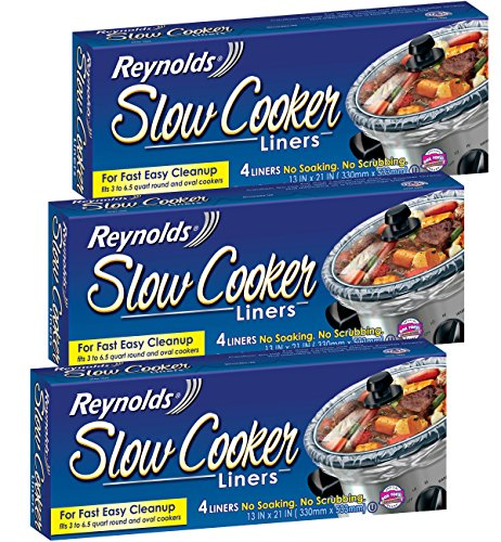 Reynolds Metals Slow Cooker Liners 13