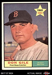 1961 Topps # 236 Don Gile Boston Red Sox (Baseball Card) Dean's Cards 4 - VG/EX Red Sox
