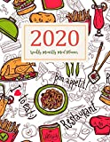 Weekly Monthly Meal Planner: Calendar Meal Planner | A Year - 365 Daily - 52 Week Daily Weekly and Monthly For Track & Plan Your Meals Weight loss or ... Design (Meal Planner with Grocery lists)