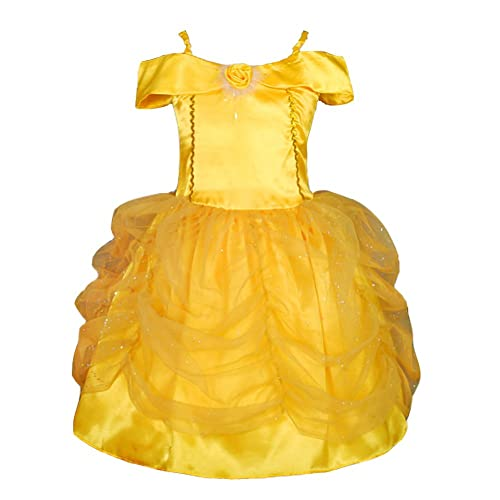 b5061cce62 Dressy Daisy Girls  Belle Princess Costume Halloween Party Fancy Dresses  FC017