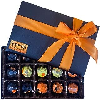 Halloween Gift Box of Artisanal Gourmet Chocolates - 15 chocolates