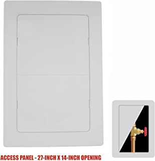 Plastic Easy-Snap Wall or Ceiling Access Panel for 27
