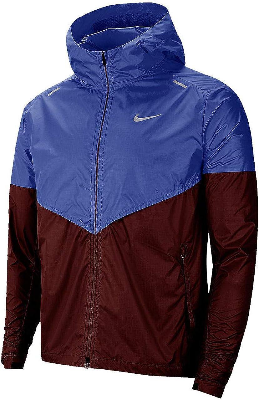 Nike 'Shieldrunner' Mens Astronomy Blue/Mystic Dates Running Jacket