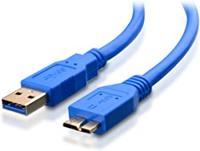 Omnihil 3.0 High Speed USB Cable Compatible with ASUS MB169B+ 15.6