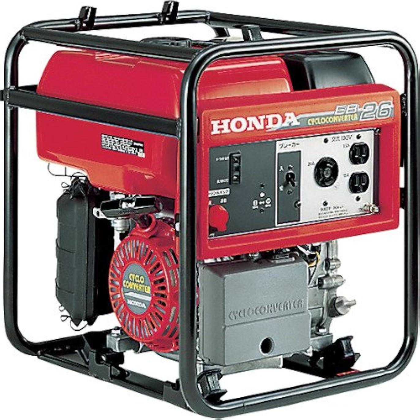 通訳震える導体HONDA サイクロコンバーター搭載発電機 EB26(EB26K1JN)