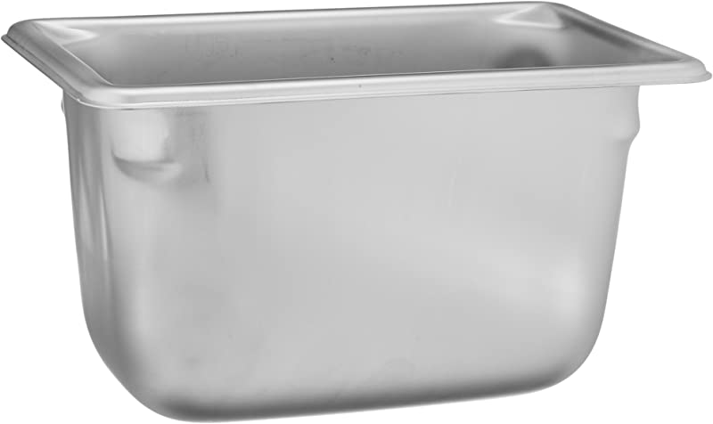 Vollrath 30942 4 Deep Super Pan V Stainless Steel Ninth Size Steam Table Pan