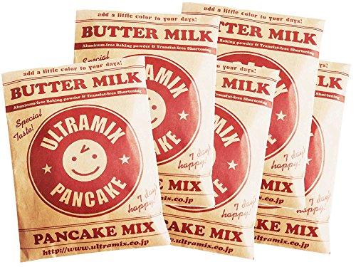 ウルトラミックス国産バターミルク入りパンケーキミックス5袋セット