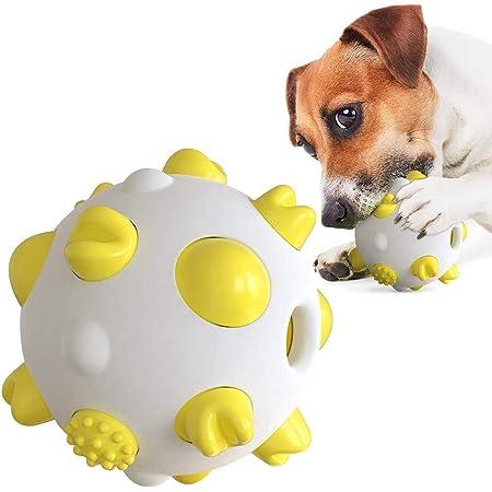 犬用噛むボール 犬用ボール 噛むおもちゃ 早食い防止 丈夫で長持ち 犬の遊び好き天性満足 知育玩具 知育トイIQ&挙動激励 運動不足解消