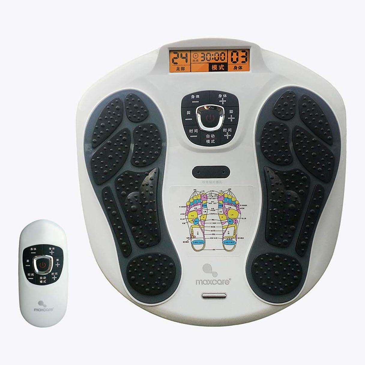 場所遊具突破口調整可能 足マッサージャー指圧、ワイヤレスコントロール、足マッサージ機電気足マッサージャーと足底筋膜炎痛みホームオフィス リラックス