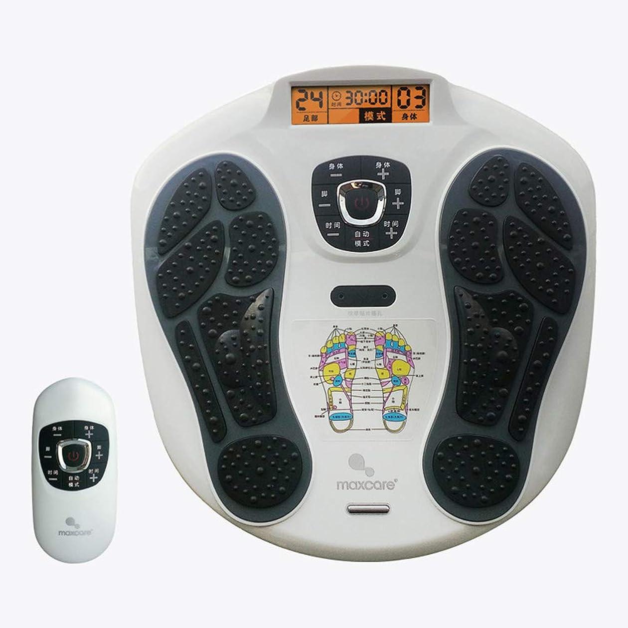 曖昧な親愛な凍る足マッサージャー指圧、ワイヤレスコントロール、足マッサージ機電気足マッサージャーと足底筋膜炎痛みホームオフィス