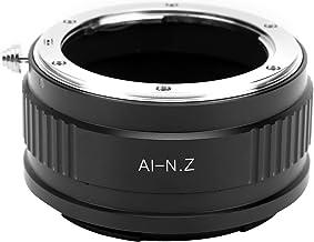 Bindpo Lens Adapter Ring, Aluminium Alloy Camera Lens Converter for Nikon AI Mount Lens to Fit for Nikon Z Mount Camera