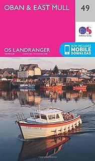 ORDNANCE SURVEY Landranger 49 Oban & East Mull Map with Digital Version