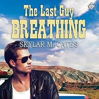 The Last Guy Breathing audiobook cover art