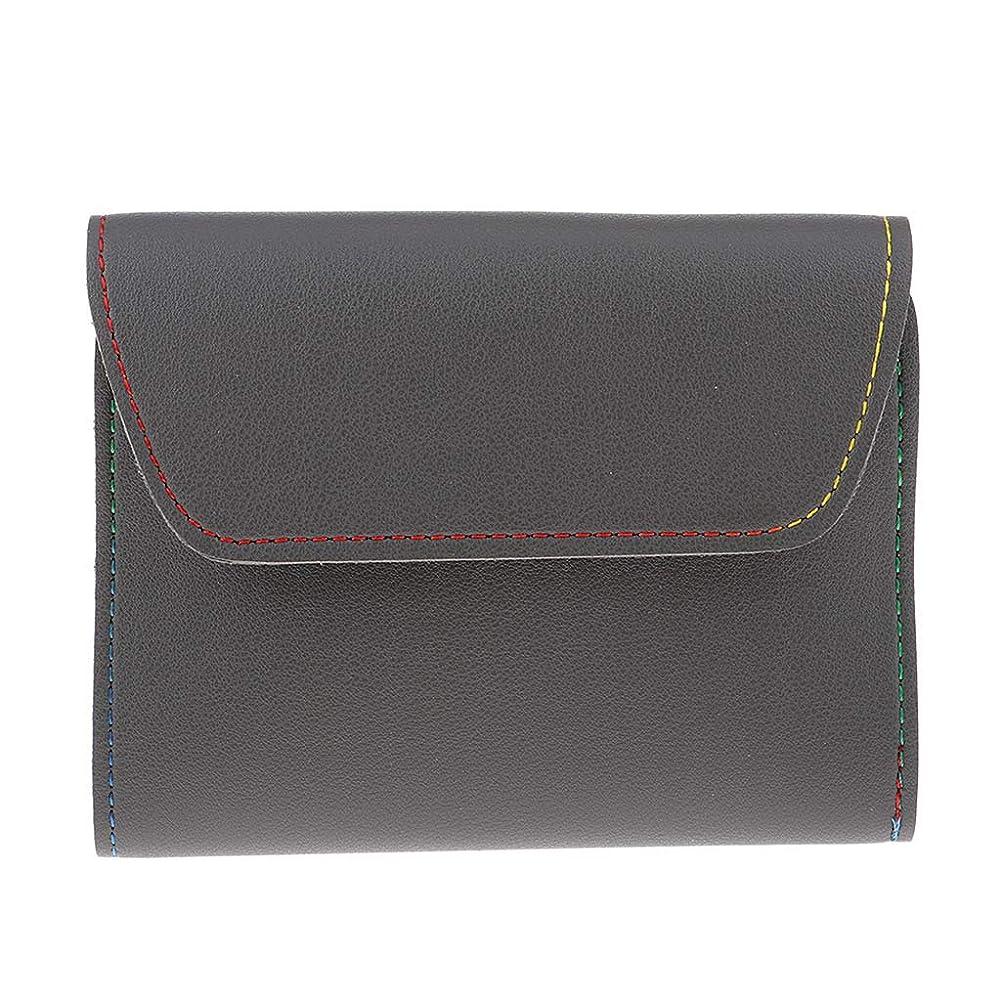 財布スコットランド人保護するP Prettyia ネイルケアセット ネイルクリッパー はさみ マニキュア ペディキュアキット 16本 全3色 - グレー