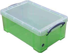 Really Useful Boxes UB9LCGR Archiefbox en -organizer (groen, 395 x 255 x 155 mm, 335 x 215 x 140 mm)