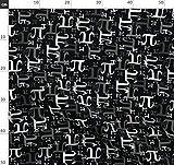 Nerd, Mathe, Zahl, Wissenschaft Stoffe - Individuell