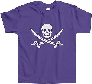 Threadrock Little Boys' Pirate Jolly Roger Toddler T-Shirt