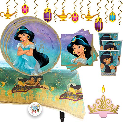 princess jasmine aladdin birthday party