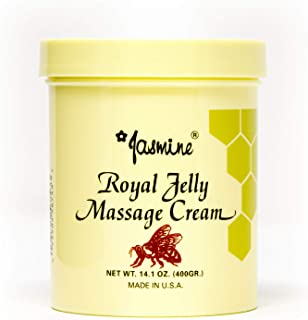 Jasmine Royal Jelly Honey Massage Cream for Face and Body, Anti-Aging Therapy Cream, Moisturizing and Nutritious for Fresh and Soft Skin, Organic Royal Jelly Extract [400g / 2 PK]