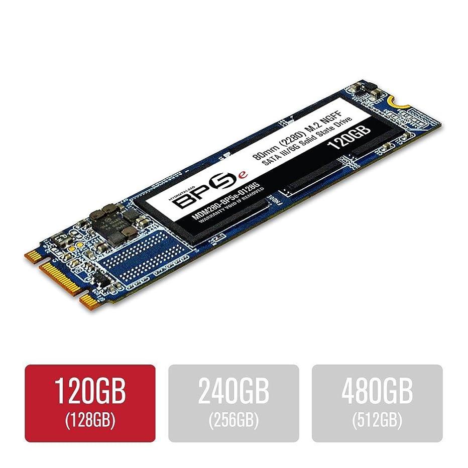 MyDigitalSSD 120GB (128GB) BP5e 80mm SATA III 6G M.2 2280 NGFF SSD Solid State Drive (Bullet Proof 5 Eco)