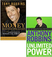 Tony Robins 2 Books Collection Set (Money Master the Game: 7 Simple Steps to Financial Freedom & Unlimited Power: The New Science of Personal Achievement)