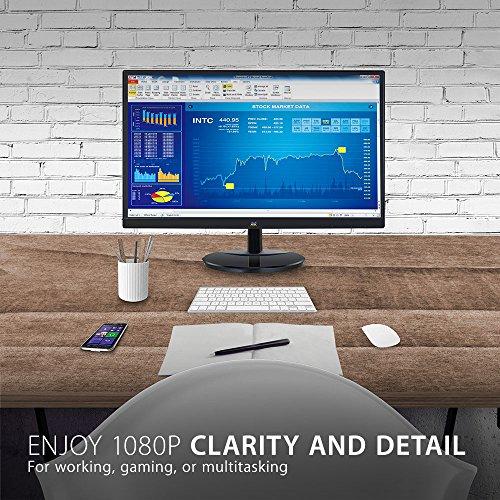 ViewSonic VA2259-SMH 22 Inch IPS 1080p Frameless LED Monitor with HDMI and VGA Inputs, Black