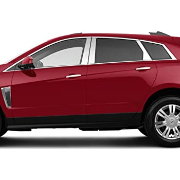Upgrade Your Auto Chrome Pillar Post Covers for 2010-2016 Cadillac SRX 6 Pieces